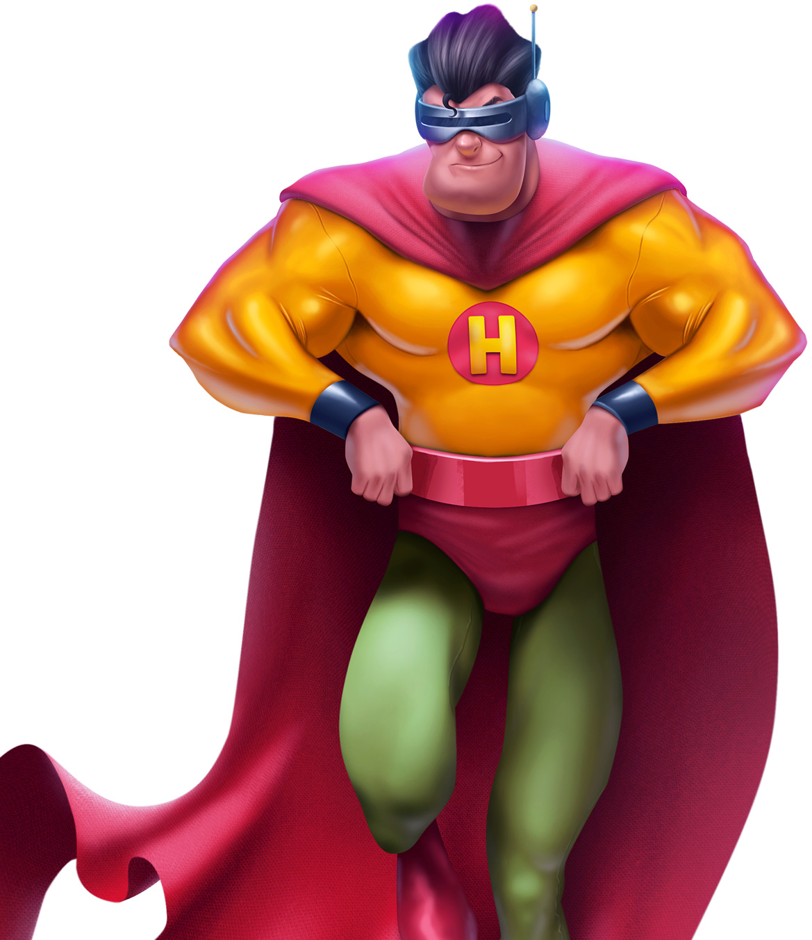 SR.H - Heróis da Pizza